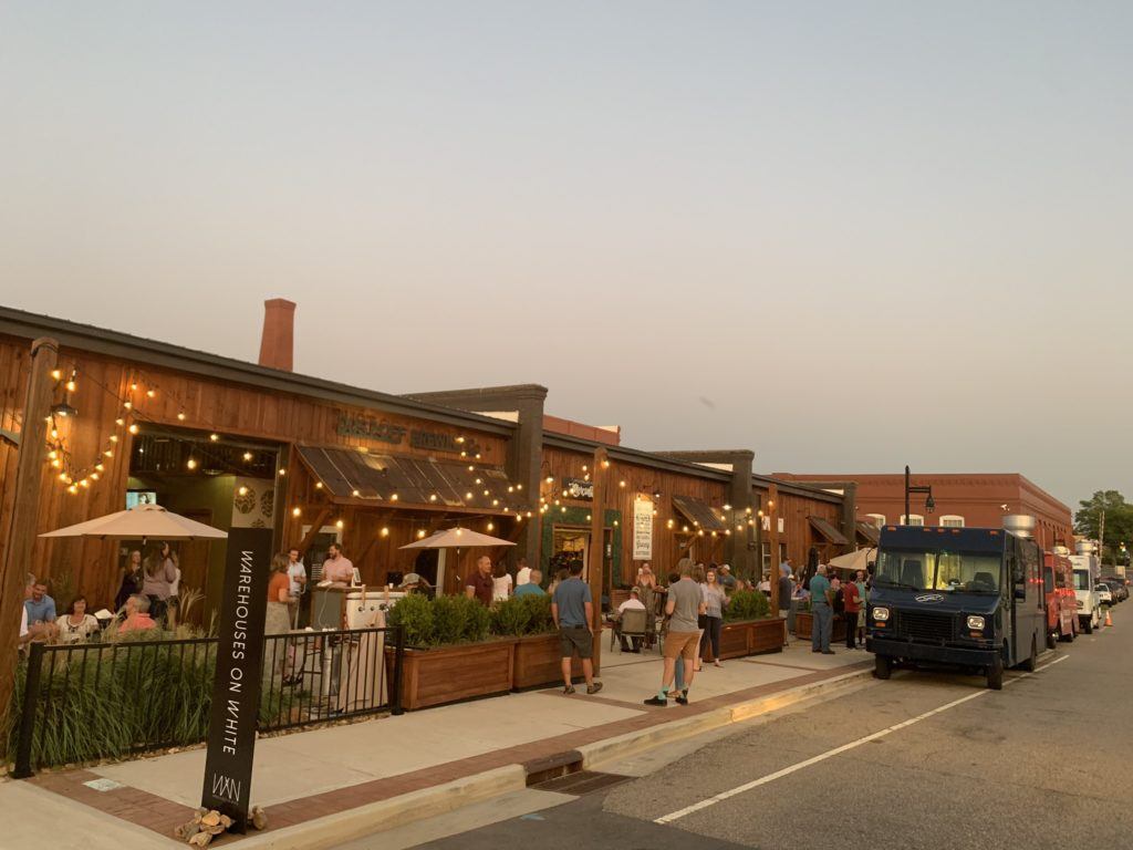 Events at The Warehouses on White