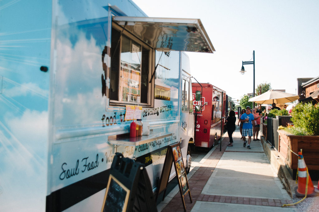 Food Trucks at The Warehouses on White
